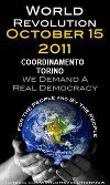 15 ottobre manifestazione internazionale degli indignados