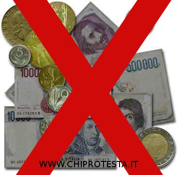 Annullato il cambio Lire in Euro