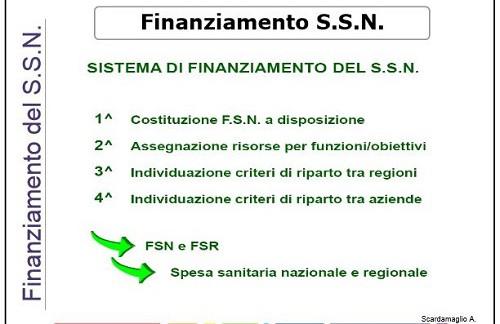 fondo sanitario nazionale